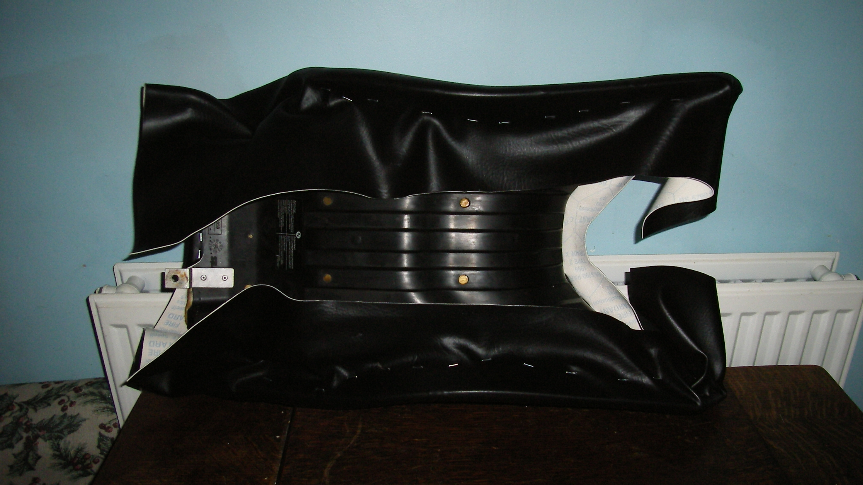 Motorcycle seat modification and reshape